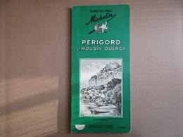 "Périgord - Limousin - Quercy ""Guide Du Pneu Michelin""  / 2° édition De 1960 - Michelin (guides)"