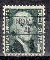 USA Precancel Vorausentwertung Preo, Locals Alaska, Nome 835,5 - Vereinigte Staaten