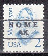 USA Precancel Vorausentwertung Preo, Locals Alaska, Nome 871 - Vereinigte Staaten