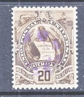GUATAMALA  105  (o)   1900-02  Issue - Guatemala