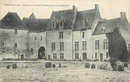 - Vienne - Ref-A425-  Gizay - Chateau Du Grand Chambonneau - Vue De Derriere - Chateaux - Carte Bon Etat - - Frankreich
