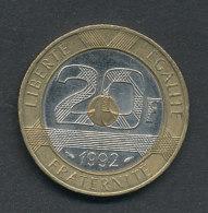 20 Fr. Mont Saint Michel 1992 - France