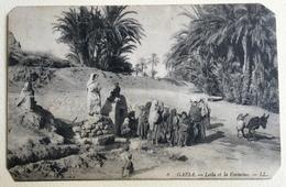 GAFSA - LEILA ET LA FONTAINE VIAGGIATA FP - Tunisia