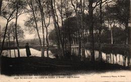 ST GERAND -56- LE CANAL DE NANTES A BREST ET LES ECLUSES - France