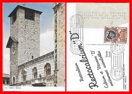 CPSM/gf COMO (Italie)  Broletto. Pub RECTOCALCIUM Laboratoire Roger Bellon...I0226 - Como