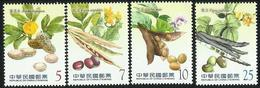 China Taiwan 2015 Food Crop Stamps — Coarse Grains 4v MNH - 1945-... Republic Of China