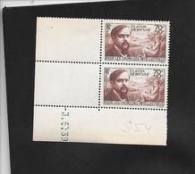 Paire Datée N° Y Et T 437 03/05/1939 Neuve - Coins Datés