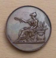 BELLE MEDAILLE PRIX D EXCELLENCE 1857 LYCEE D ANGOULEME Attribuée à BOURDIN - France
