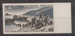 Débarquement De Provence De 1969 YT 1605 Bord De Feuille Sans Trace De Charnière - France