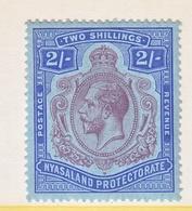 NYASALAND  PROTECTORATE  33   * - Nyasaland (1907-1953)