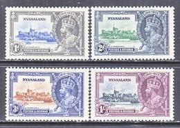 NYASALAND  47-50   *   SILVER  JUBILEE - Nyasaland (1907-1953)