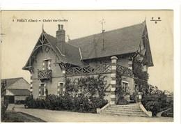 Carte Postale Ancienne Foëcy - Chalet Des Genêts - Autres Communes