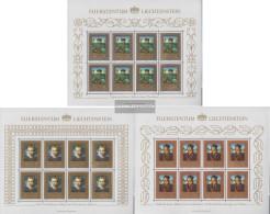 Liechtenstein 881Klb-883Klb Sheetlet (complete Issue) Unmounted Mint / Never Hinged 1985 Paintings - Liechtenstein