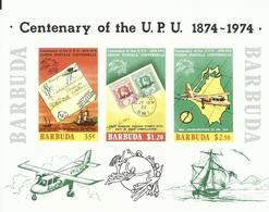 BARBUDA YVERT H/B 10  (SIN DENTAR)   MNH  ** - Antigua Y Barbuda (1981-...)