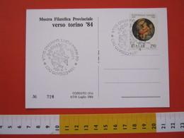 A.05 ITALIA ANNULLO - 1984 COSSATO VERCELLI BIELLA TORINO '84 UVA VITE MAIS LANA WOOL QUINTINO SELLA - Agricoltura