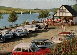 ! Ansichtskarte Von Listertalsperre Trinkhalle Gut Kalberschnacke, Windebruch, Kreis Olpe, Autos,voitures VW, Ford, Opel - PKW