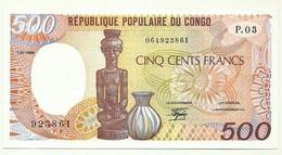 Congo - 500 Francs 1989 - Congo
