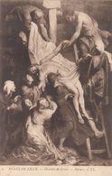 Cp , ARTS , Musée De LILLE , Descente De Croix , RUBENS - Pintura & Cuadros