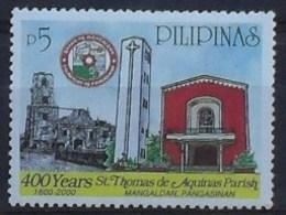 Pilipinas 2000 400 Years St. Thomas De Aquinas Parish ** MNH - Philippines