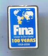 FINA - International Federations De Natation, Swimming, Pin, Badge, Abzeichen - Swimming