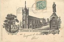 - Vienne -ref-A418- Marçay - Saint Labre - St Labre - Souvenir De ..  Eglise - Pelerinage - Illustrateur - Illustrateurs - Frankreich