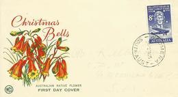 AUSTRALIA, SOBRE PRIMER DIA AEREO - 1952-65 Elizabeth II: Ediciones Pre-Decimales