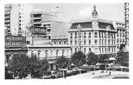 POSTAL    MONTEVIDEO -URUGUAY   - CONJUNCION DE LA AV. 18 DE JULIO Y CALLE RIO NEGRO - Uruguay