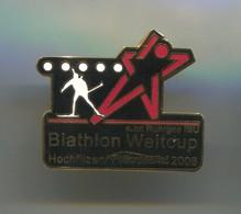 BIATHLON - World Cup, Hochfilzen, Enamel Pin, Badge, Abzeichen - Biathlon