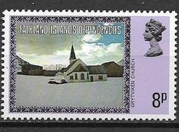 COLONIE INGLESI  FALKLAND DEPENDENCIES 1980  ORDINARIA YVERT. 84 MNH XF - Falkland