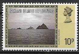 COLONIE INGLESI  FALKLAND DEPENDENCIES 1980  ORDINARIA YVERT. 86  MNH XF - Falkland