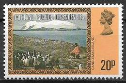 COLONIE INGLESI  FALKLAND DEPENDENCIES 1980  ORDINARIA YVERT. 87  MNH XF - Falkland