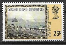 COLONIE INGLESI  FALKLAND DEPENDENCIES 1980  ORDINARIA YVERT. 88  MNH XF - Falkland