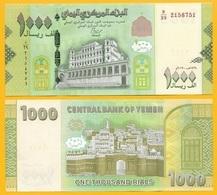 Yemen 1000 Rials P-new 2017 (2018) (2) New Signature UNC - Jemen