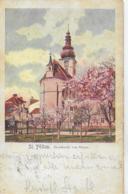 AK 0106  St. Pölten - Domkirche Von Osten - Verlag Höfinger Um 1902 - St. Pölten