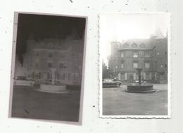 Photographie Et Son Négatif , 9 X 6 , SALERS , Cantal , Automobile - Plaatsen
