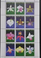 ARUBA  2012 SERIE BLOEMEN FLOWERS FLEUR ORCHIDEEËN ORCHIDS MNH ** - Curaçao, Nederlandse Antillen, Aruba