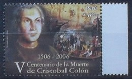 Peru 2006 V Centenario De La Muette De Cristobal Colón ** MNH - Pérou