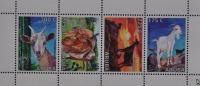 ARUBA 2012 ++  SERIE ++ GEITEN GOATS ZIEGEN  MNH POSTFRIS ** - Curaçao, Nederlandse Antillen, Aruba
