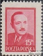 Pologne 523 Neuf Avec Gomme Originale 1948 Boleslaw Bierut - 1944-.... Repubblica