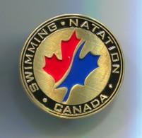 Swimming Natation - Canada Federation, Pin, Badge, Abzeichen - Swimming