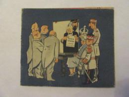 Carte Satirique à Système - Caricature Churchill Reine Elizabeth Charte De L'Atlantique - URSS Staline - TBE - Satiriques