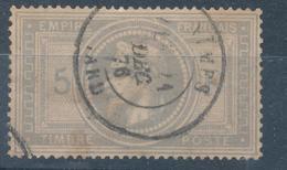 N°33 AVEC CERTIFICAT D'AUTHENTICITE - 1863-1870 Napoleon III With Laurels