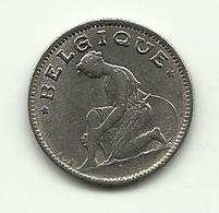 1933 - Belgio 50 Centimes - 1909-1934: Alberto I