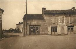 - Vienne -ref-A403- Champagné Saint Hilaire - Champagné St Hilaire - Palce Du Pilori - Route De Couhé - Magasins - - Frankreich