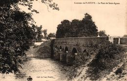 ENVIRONS DE PONTIVY - LE PONT DE SAINT AGNAN - Pontivy