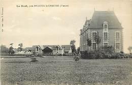 - Vienne -ref-A401- Brigueil Le Chantre - Le Bost -  Chateau Et Communs - Chateaux - Carte Bon Etat - - Frankreich