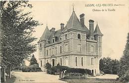 - Vienne -ref-A400- Lussac Les Eglises - Chateau De La Vozelle - Chateaux - Carte Bon Etat - - Frankreich