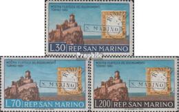 San Marino 697-699 (kompl.Ausg.) Postfrisch 1961 Jahrestag Einigung Italiens - Neufs