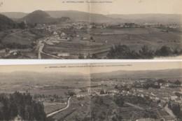 88 BRUYERES-en-VOSGES Lot De 2 Cartes Panoramiques - Bruyeres