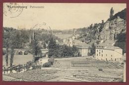 Luxembourg Pulvermühl  N° 110 Edition Artistique P.C. Schoren Luxembourg Gare - Postcards